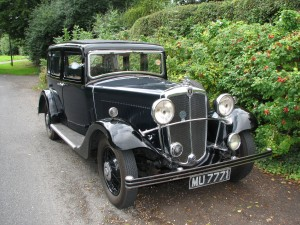 1933 Morris Oxford Six
