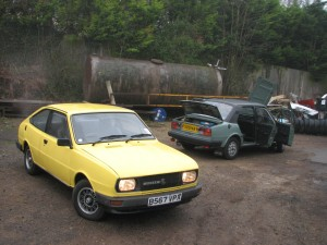 Skoda Estelle and  Rapid