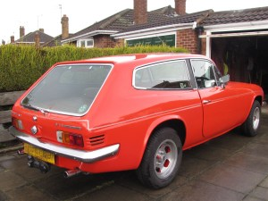 Scimitar SE5a rear