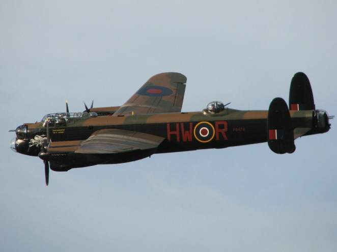 Lancaster at Goodwood 2008