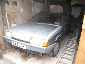 Citroen BX Mk1 estate project