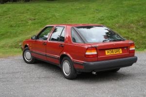 Saab 9000 i 16v rear