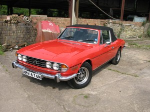 Triumph Stag by Michelotti