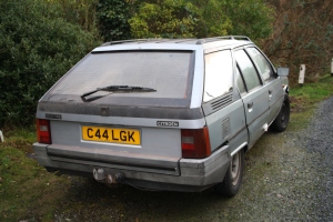 Citroen BX estate rear