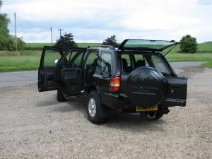 Vauxhall Frontera rear