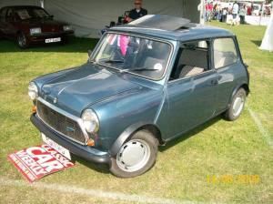 Mini car show