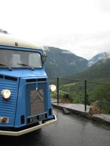 Road tripping H van