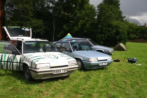 Citroen BXs together