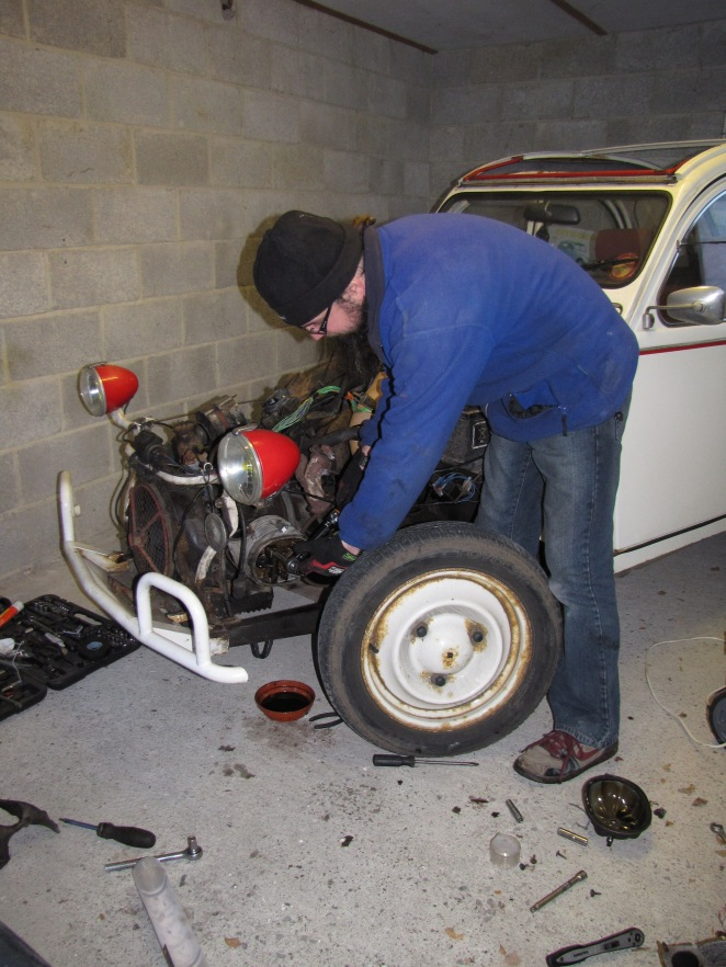 Economical motoring means trying to do more work yourself. Even in winter.