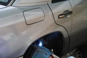 Merc gets welded