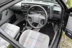 Golf Mk2 seats cleaned