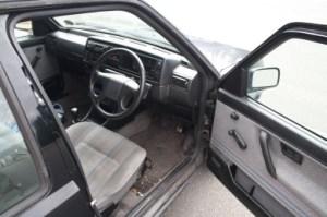 Volkswagen Golf seats