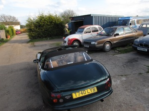 TVR was fun, but so were these old clunkers