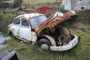 You'd have to be brave to restore it. £300?