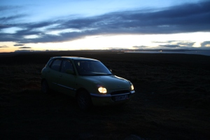 Sirion basks in the sunset at Dunnet Head