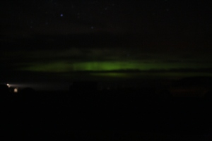 The Northern Lights! Amazing