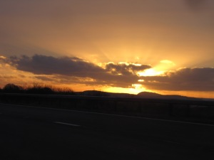 Astonishing views, from a motorway!