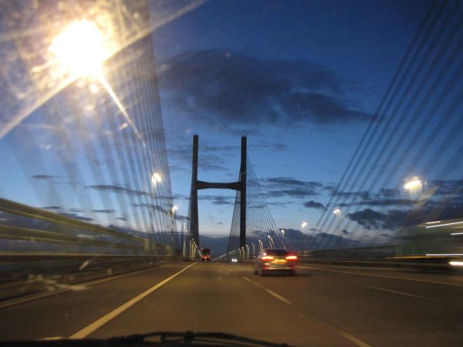 Severn Bridge. Croeso i Grymru!