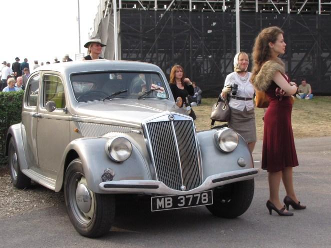 Lancia Aprilia Goodwood Revival