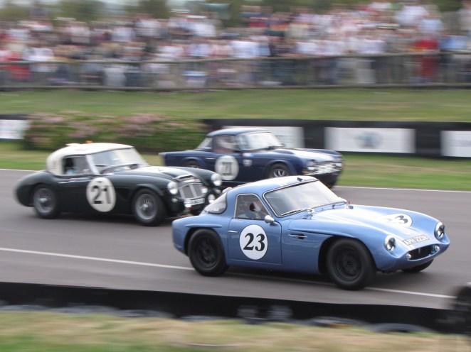 Historic race cars