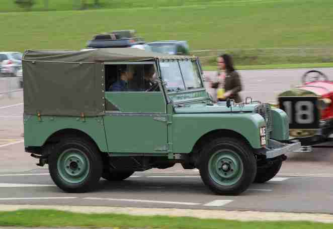 First Land Rover