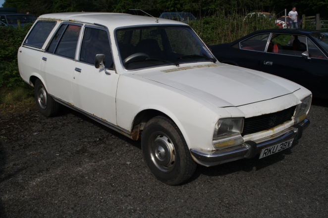Peugeot 504 family estate diesel