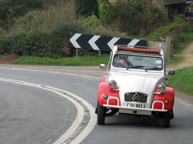 My 2CV - perfect car for the hippy petrolhead?