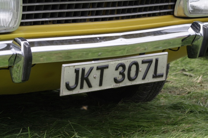 Lovely, proper number plate