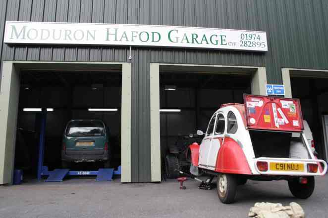 Moduron Hafod Garage fitted the tyres