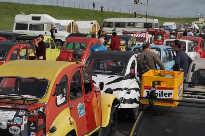Parade time! Colourful.