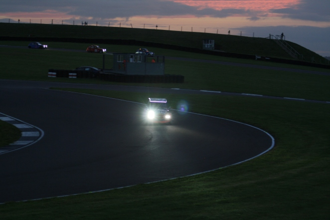 Racing as the sun rises