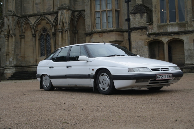 Citroen XM stately home