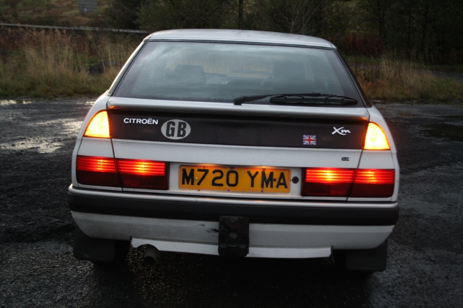 XM rear lights