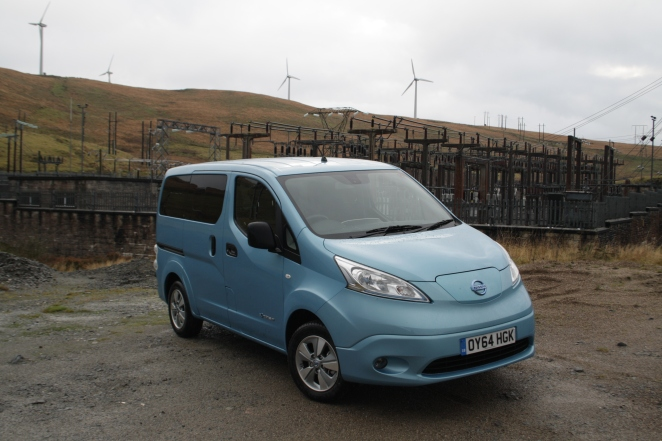 Nissan electric van