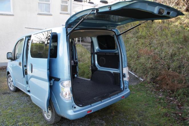 e-NV200 rear