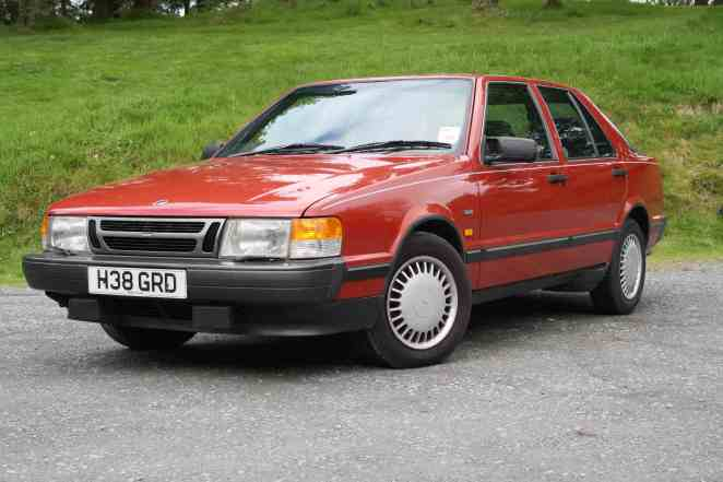 I actually overpaid for this Saab - £595 was still too much!