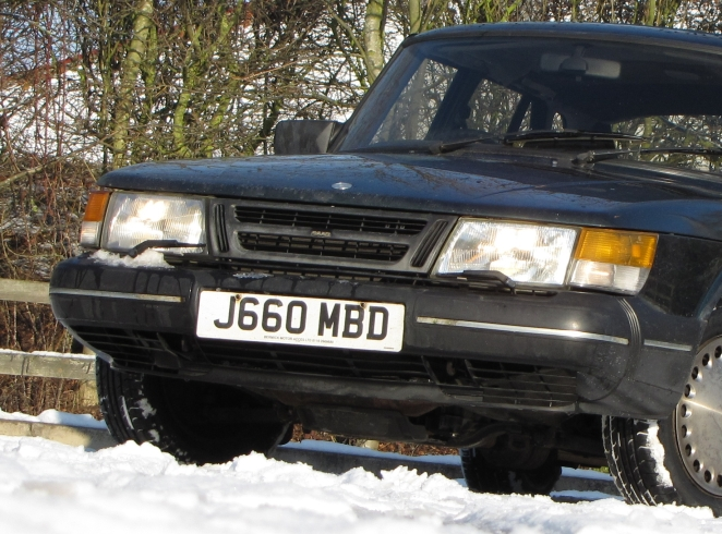 Saab 900 headlamp wipers