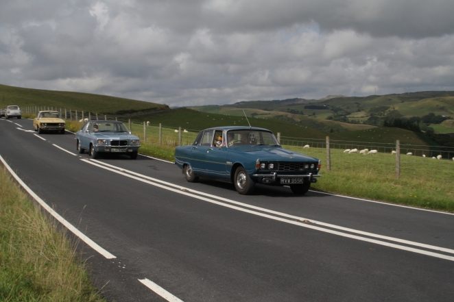 Driving classic cars can be challenging, but is huge fun!