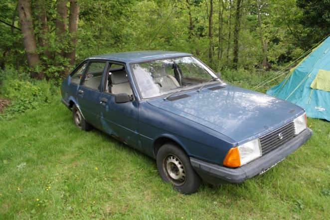 Talbot Alpine rusty