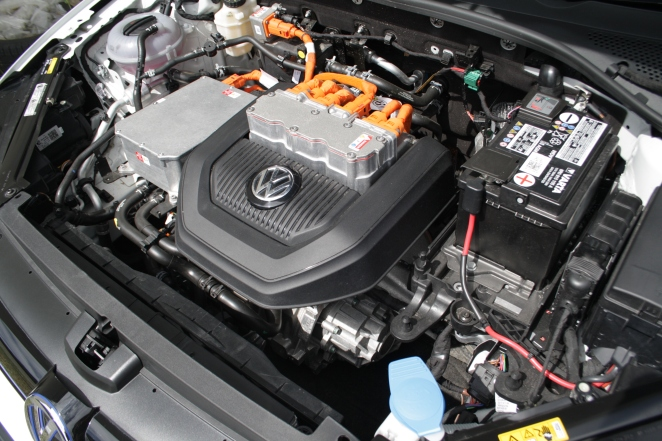 e-Golf engine