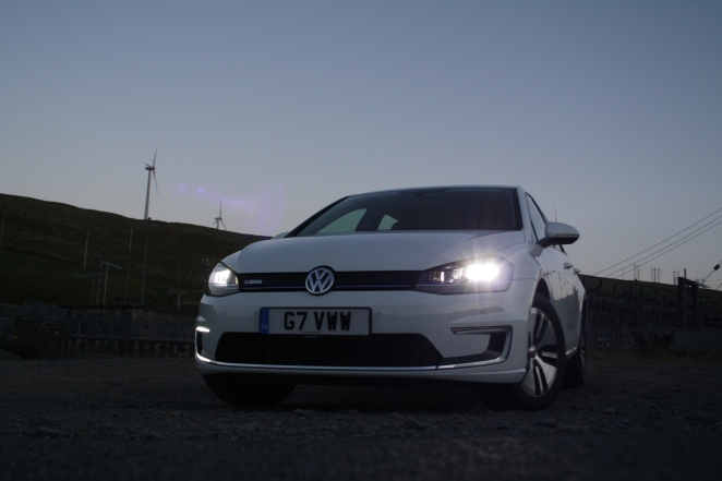 e-Golf headlamps