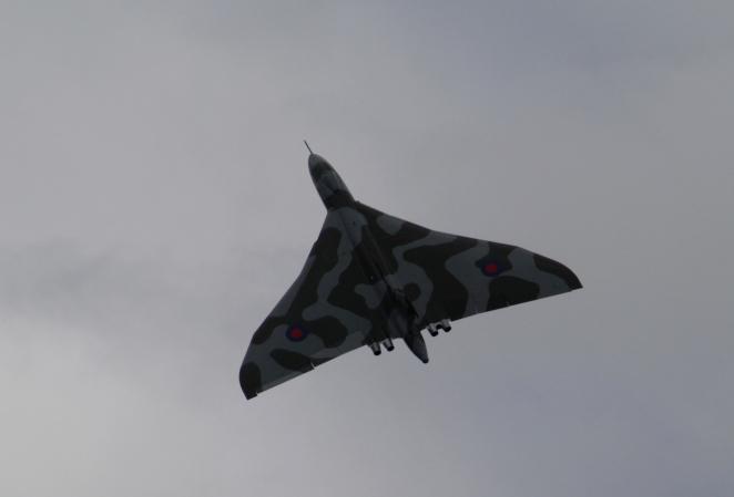 Still as awe-inspiring as ever - Vulcan XH558.