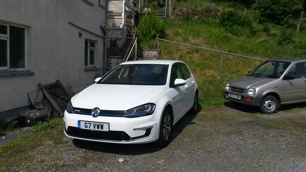 The e-Golf has landed. Let the test commence!