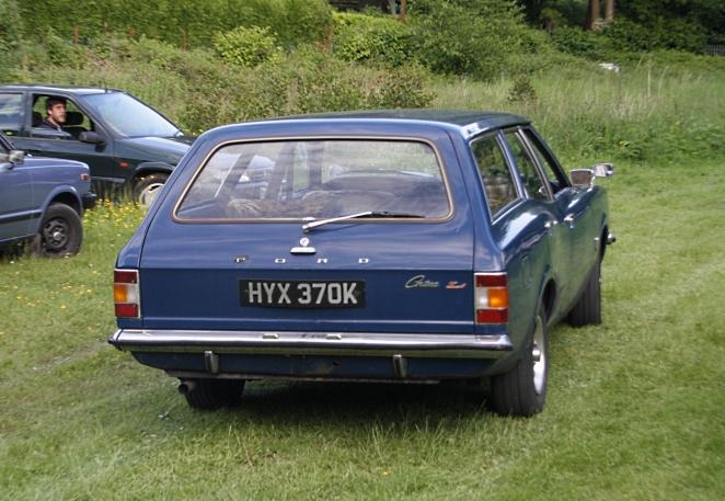 Cortina mk3 rear