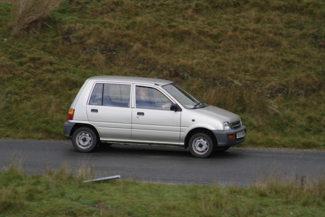 Perodua Nippa at speed. Sort of.