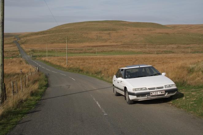 The Elan Valley - wonderful driving terrain.