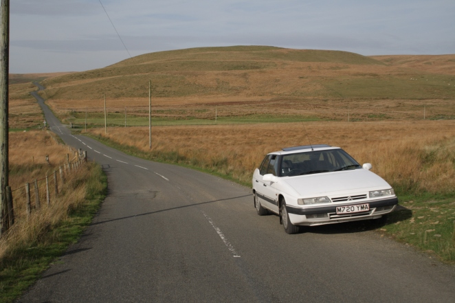 The Elan Valley - wonderful driving terrain.