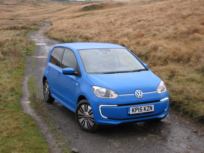 A City car, emphatically not in a city