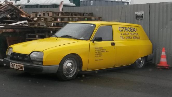 Cripes! A Citroen GSA Service van! Exceedingly rare.