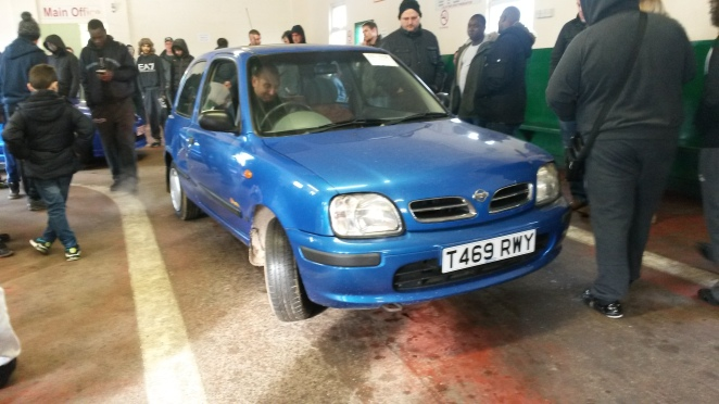 £100 doesn't get you much. This Micra was awful.